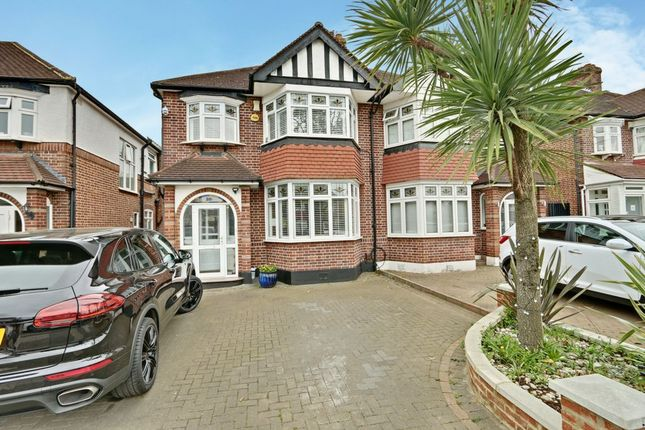 Thumbnail Semi-detached house for sale in Gloucester Gardens, Cockfosters