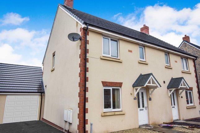 Thumbnail Property to rent in Ffordd Y Draen, Parc Derwen, Bridgend