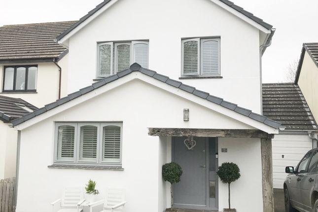 Thumbnail Link-detached house for sale in Palmers Close, Braunton, Devon