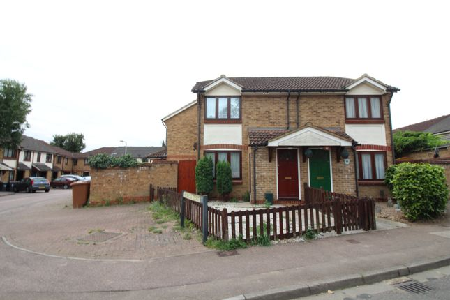 Thumbnail Semi-detached house to rent in Heybridge Court, Hertford