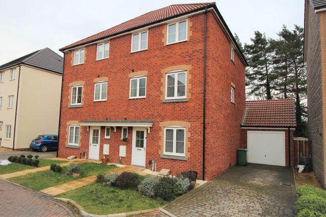 Thumbnail Town house for sale in Blue Cedar Close, Yate, Bristol