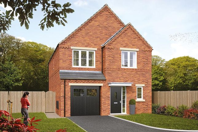 "Thumbnail Detached house for sale in ""The Ashbury"" at Pastures Road, Mexborough"