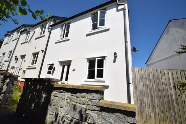 Thumbnail End terrace house to rent in Lewis Way, St. Austell