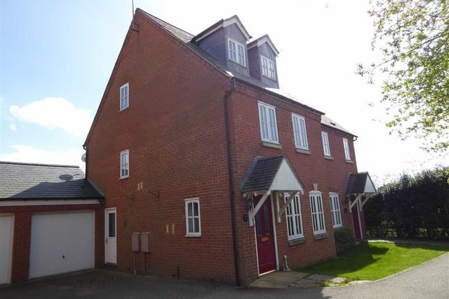 Thumbnail Town house for sale in Scowcroft Drive, Bishops Itchington, Southam