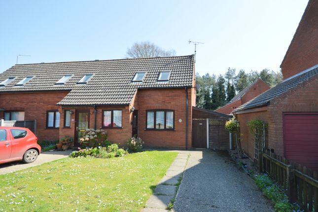 Thumbnail Semi-detached house for sale in Charles Road, Holt, Norfolk
