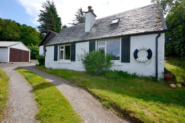 Thumbnail Detached bungalow for sale in Connel, Oban