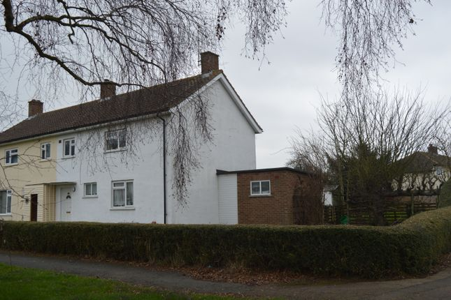 Thumbnail Semi-detached house to rent in Caldecote Road, Ickwell