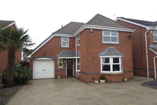 Thumbnail Detached house for sale in Rembrandt Way, Meir Park, Stoke-On-Trent