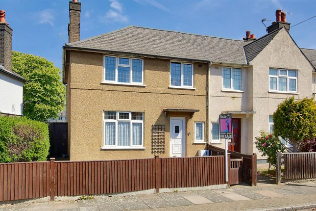 Thumbnail End terrace house for sale in Lidiard Road, London