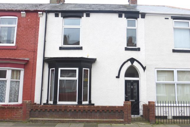 Thumbnail Terraced house for sale in Lister Street, Hartlepool