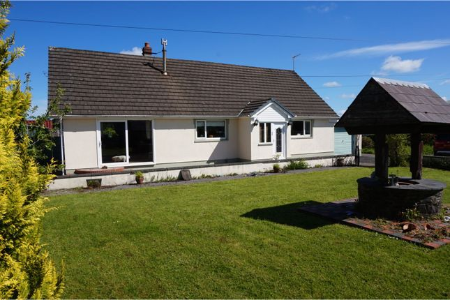 Thumbnail Detached bungalow for sale in Llanfihangel-Ar-Arth, Pencader