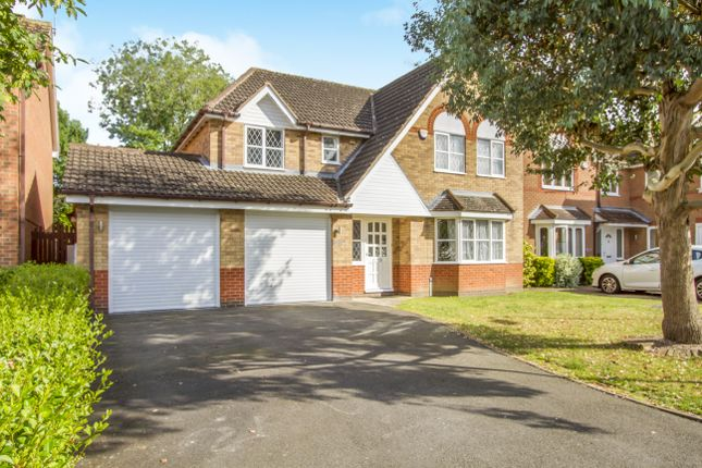Thumbnail Detached house for sale in Mount Pleasant, Oadby, Leicester