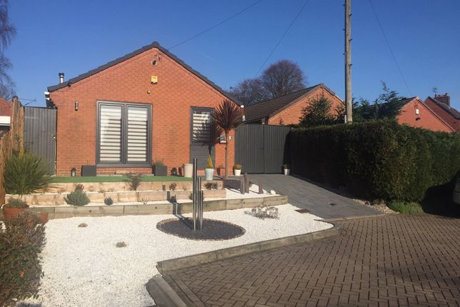 Thumbnail Detached bungalow for sale in Morleyfields Close, Ripley