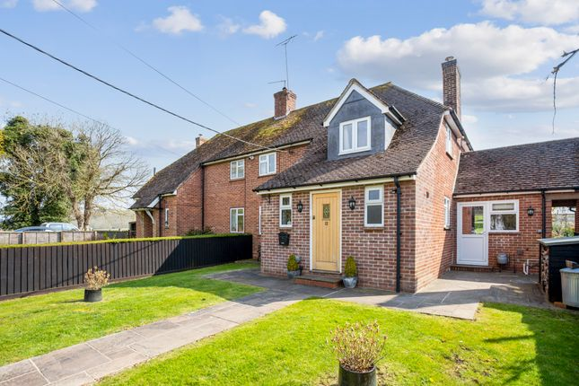 3 bed semi-detached house for sale in Wexcombe, Marlborough SN8