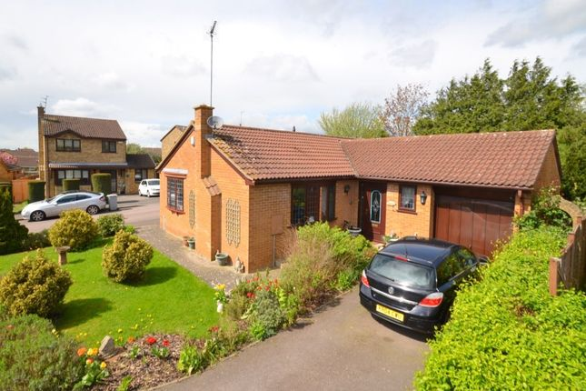 Thumbnail Bungalow for sale in Rossendale Drive, Barton Seagrave, Kettering