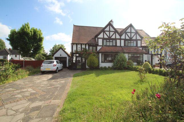 Thumbnail Semi-detached house to rent in Princes Avenue, Petts Wood, Orpington, Kent