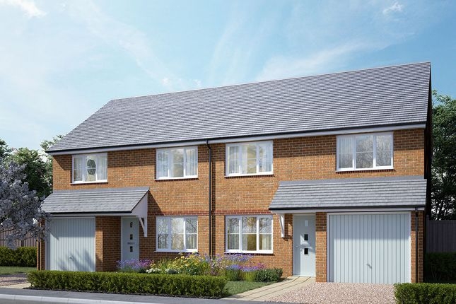 """Thumbnail Semi-detached house for sale in """"Birch Semi"""" at Rhuddlan Court, Caerphilly"""