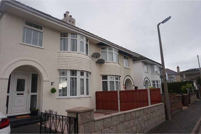 Thumbnail Semi-detached house for sale in Walton Crescent, Llandudno Junction