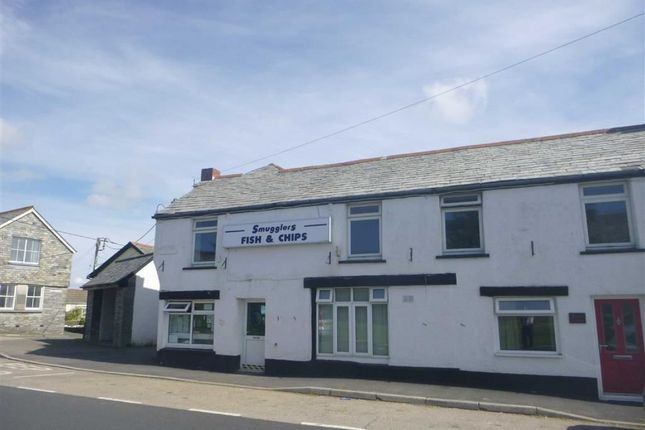 Thumbnail Flat to rent in High Street, Delabole, Cornwall