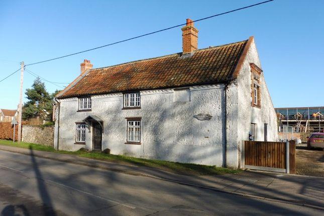 Thumbnail Farmhouse for sale in White House Farm, Chapel Road, Pott Row, King's Lynn, Norfolk