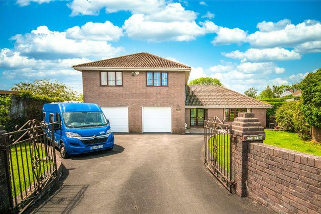 Thumbnail Detached house for sale in Onllwyn Road, Coelbren, Swansea
