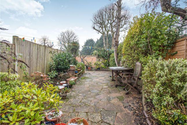 Rear Garden of Green Lane, Stanmore HA7