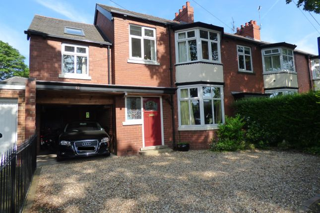 Thumbnail Semi-detached house for sale in Admiral Walker Road, Beverley