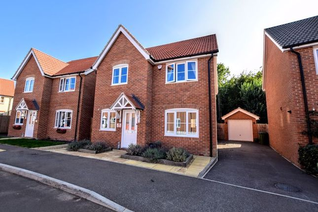 Thumbnail Detached house for sale in Harvest Close, Aylesbury