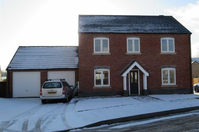 Thumbnail Detached house to rent in Chapman Close, Markfield