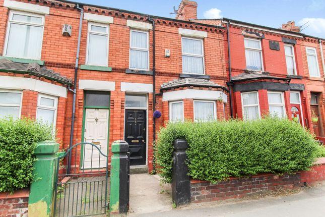 Thumbnail Terraced house for sale in Warrington Road, Prescot