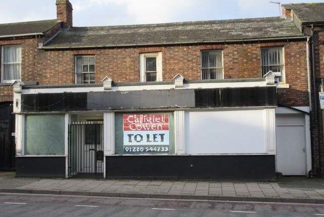Thumbnail Retail premises to let in Scotland Road, 31/33, Carlisle