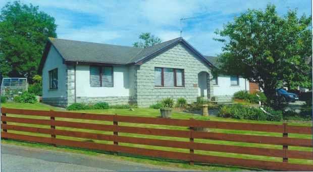 Thumbnail Detached bungalow for sale in Viewbank, Auchnagatt, Aberdeenshire