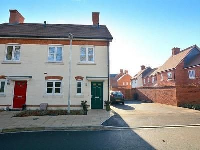 Thumbnail End terrace house for sale in Bankes Road, Wimborne