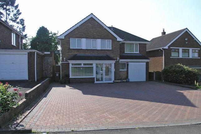 Thumbnail Detached house for sale in Stourbridge, Pedmore, Walker Avenue