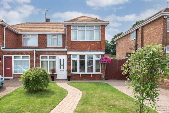 Thumbnail Semi-detached house for sale in Ridgeway Avenue, Dunstable, Bedfordshire