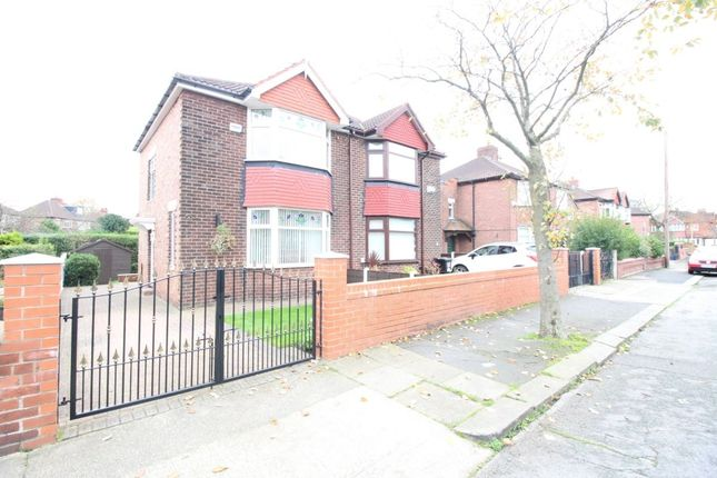 Thumbnail Semi-detached house for sale in Belford Road, Stretford, Manchester