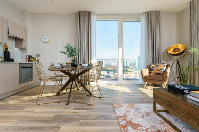 """Thumbnail Flat for sale in """"Voyager House Type G Tenth Floor"""" at York Road, London"""