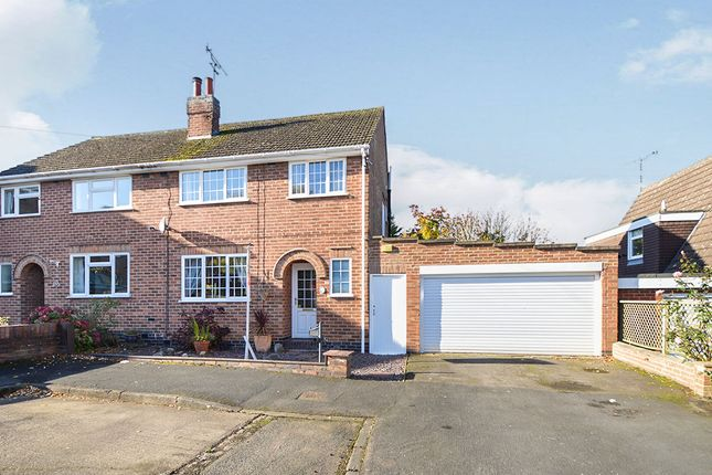 Thumbnail Semi-detached house for sale in Anthony Drive, Thurnby, Leicester