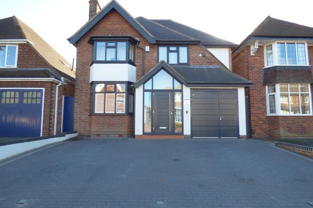Thumbnail Detached house to rent in St Peters Road, Harborne, Birmingham