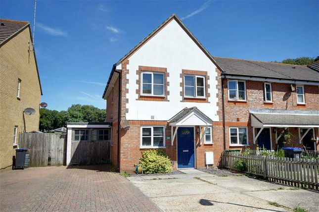 Thumbnail End terrace house for sale in Juno Close, Goring-By-Sea, Worthing, West Sussex