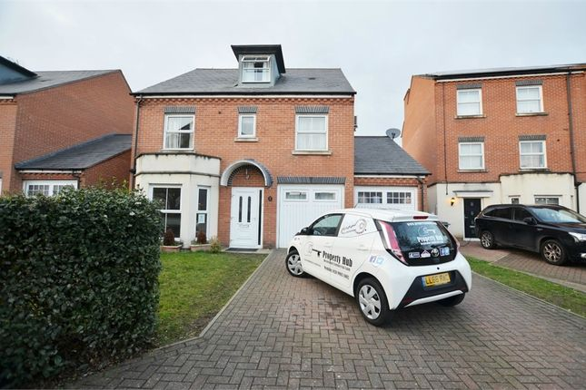 Thumbnail Detached house for sale in Chilcott Close, Wembley, Greater London