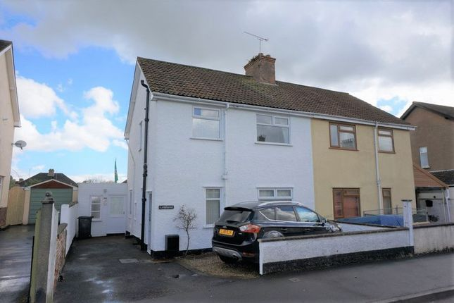 Thumbnail Semi-detached house for sale in Eastwick Road, Taunton