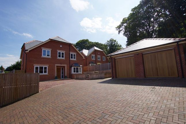 Thumbnail Detached house for sale in Wychwood Close, Marford, Wrexham