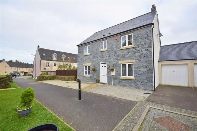 Thumbnail Detached house for sale in Dymond Close, Camelford, Cornwall