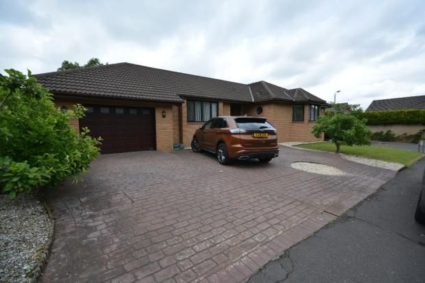 Thumbnail Detached bungalow for sale in Fisher Court, Knockentiber