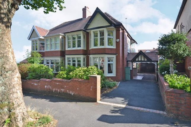 Thumbnail Semi-detached house for sale in Superb Period House, Edward Vii Avenue, Newport