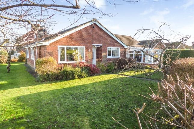 Thumbnail Detached bungalow for sale in Birch Lane, Stanthorne, Middlewich, Cheshire
