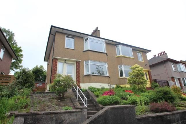 Thumbnail Semi-detached house for sale in Hill Crescent, Clarkston, East Renfrewshire