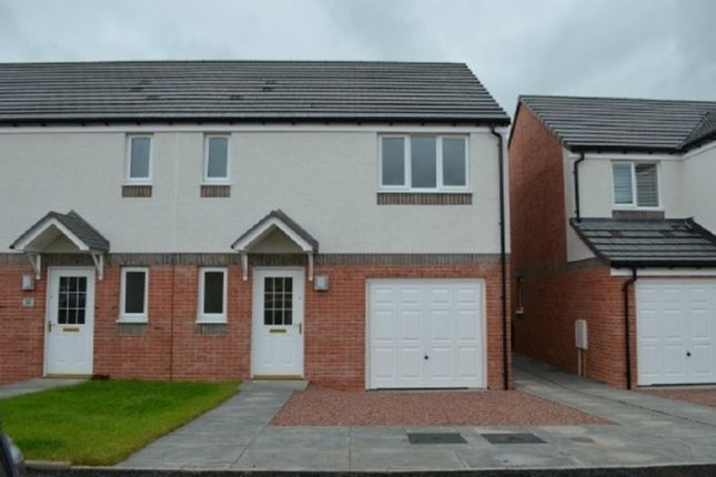 Thumbnail Semi-detached house to rent in Rankin Drive, Falkirk