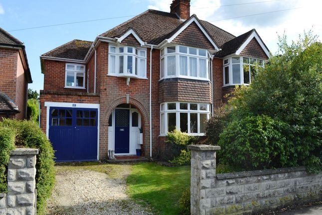 Thumbnail Semi-detached house to rent in Fifth Road, Newbury, Berkshire